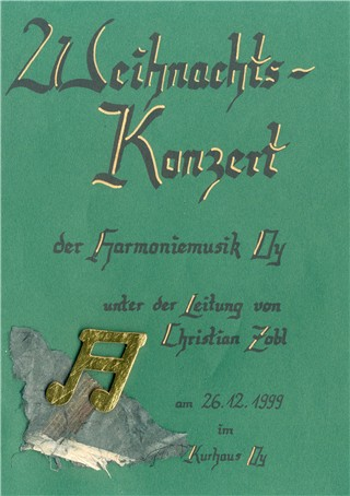 Read more about the article Weihnachtskonzert 1999