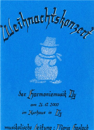 Read more about the article Weihnachtskonzert 2000