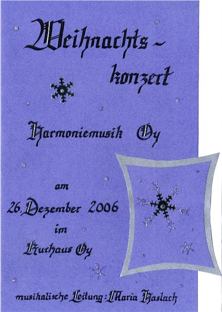 You are currently viewing Weihnachtskonzert 2006