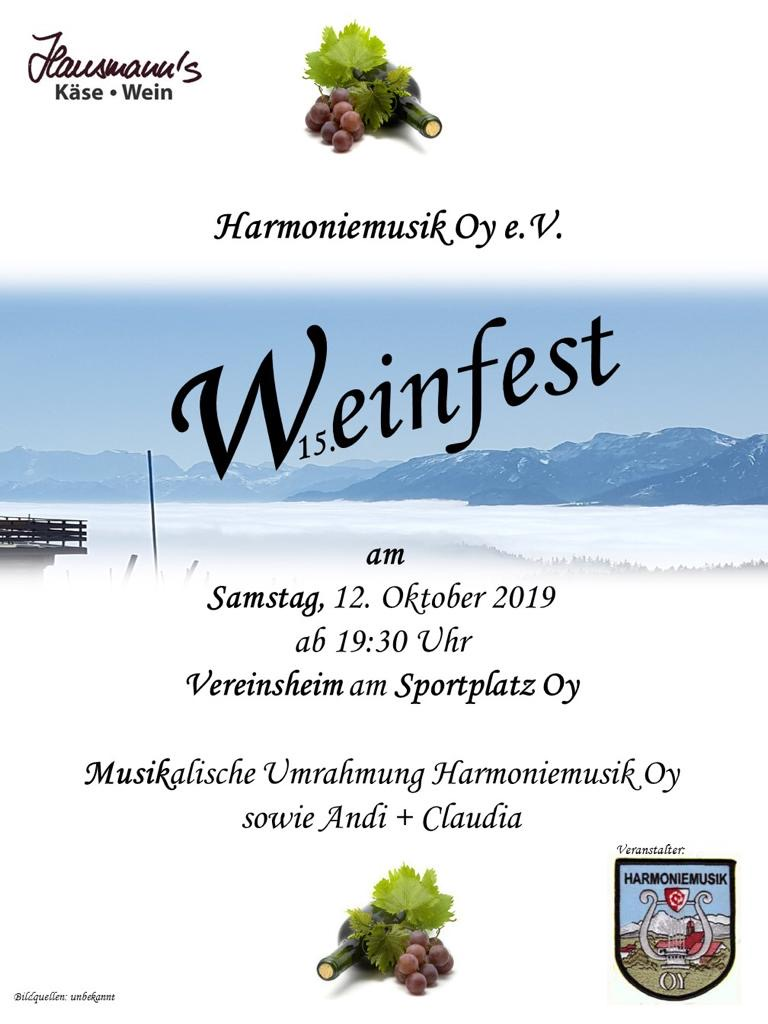 Read more about the article Weinfest 2019